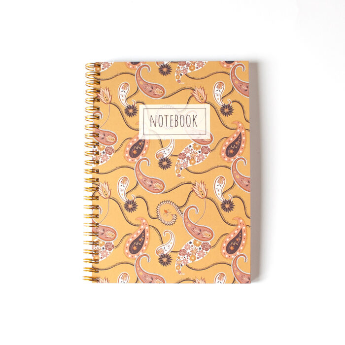 notitieboek a5 paisley
