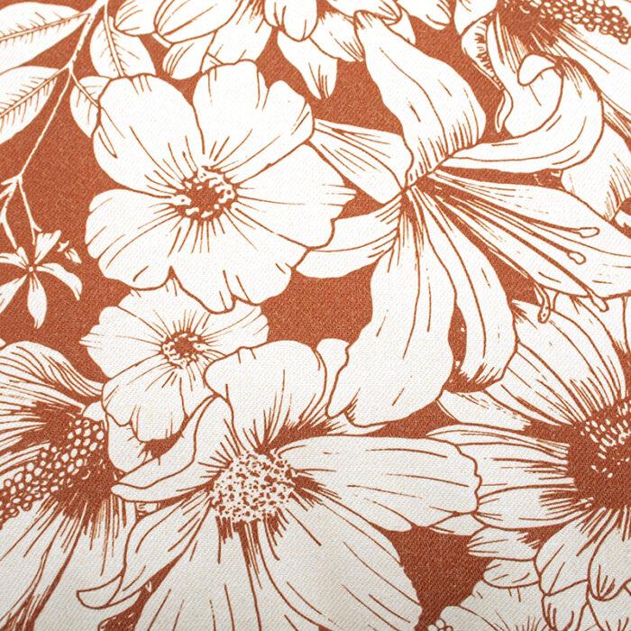 sierkussen terra detail print